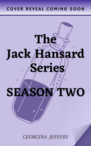 The Jack Hansard Series: Season Two, temporary book cover with potion bottle
